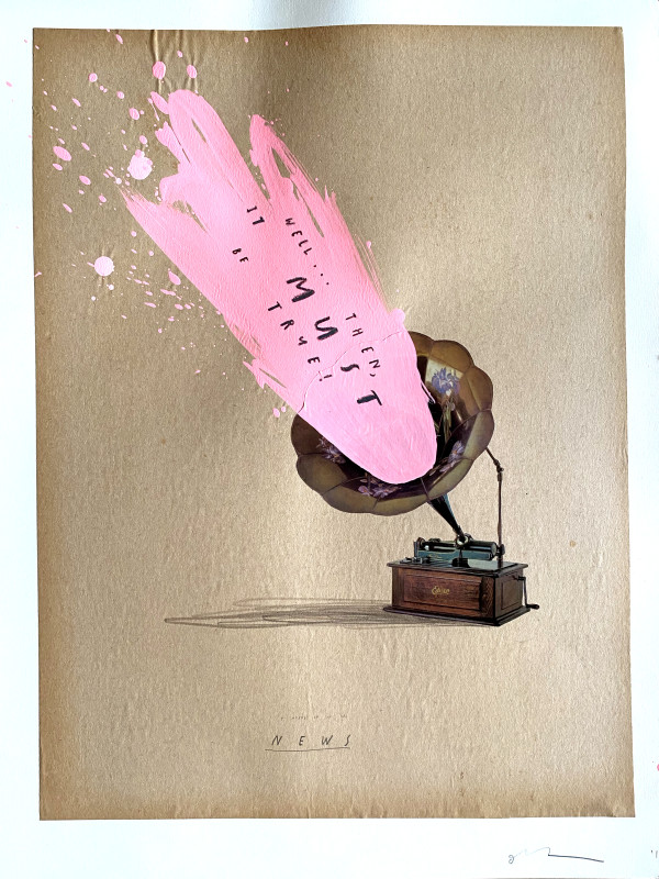 I Heard It On the News by Oliver Jeffers
