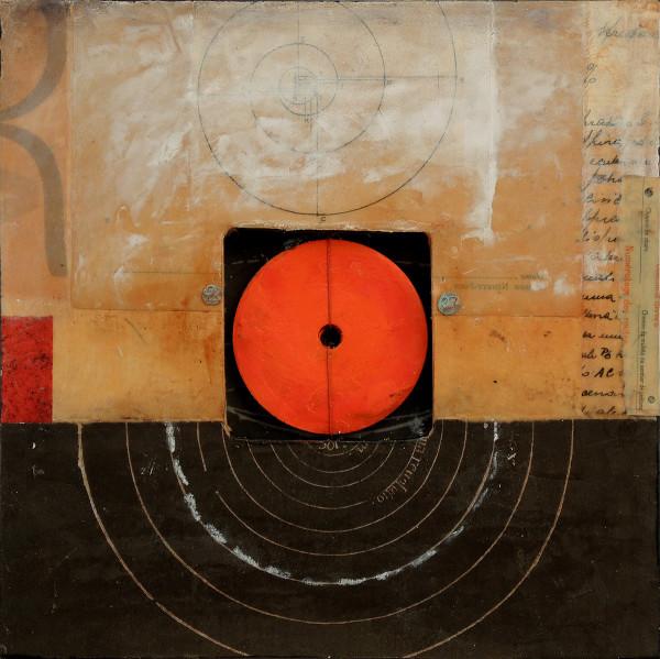 Distance+Observation series 1, framed in black (not shown) by Graceann Warn