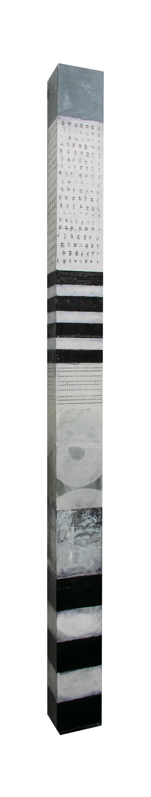 B+W Wall Column by Graceann Warn