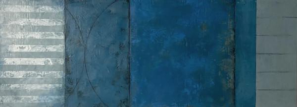 Blue Theorem 1 by Graceann Warn