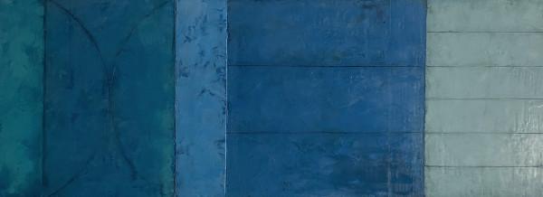 Blue Theorem 3 by Graceann Warn