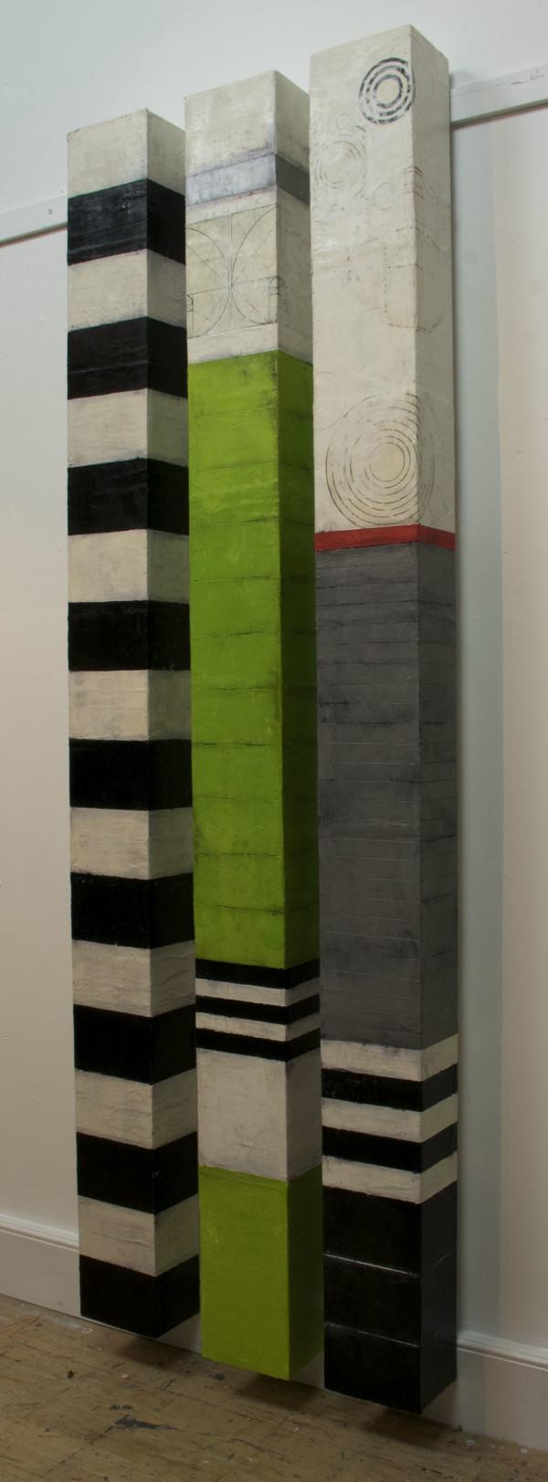 Wall Columns by Graceann Warn