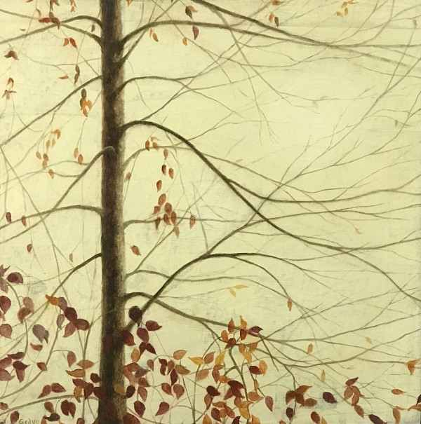 Autumn Tree and Vine Duet by Christine Gedye