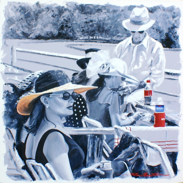 Before the Race by Sharon Rusch Shaver