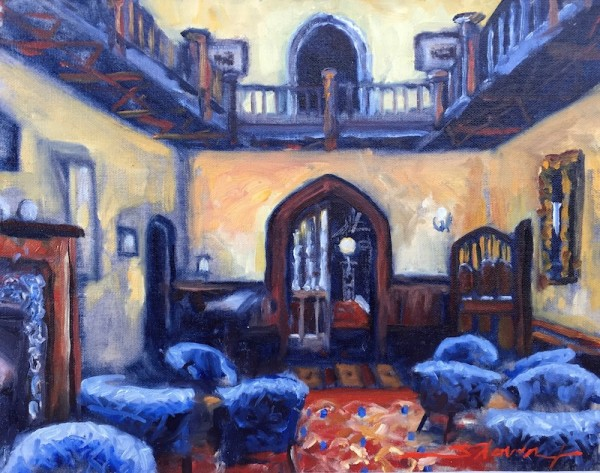 Castle Remains by Sharon Rusch Shaver