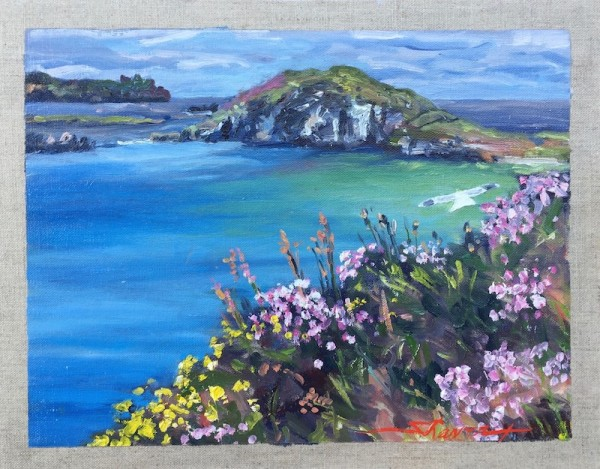 On the Coast of Dingle by Sharon Rusch Shaver