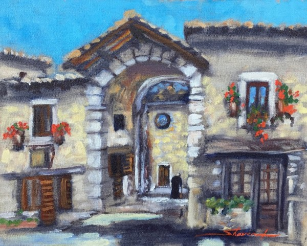 French Abby by Sharon Rusch Shaver