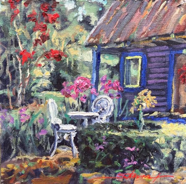 Garden Serenity  by Sharon Rusch Shaver