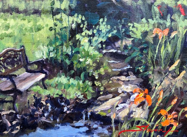 Tiger Lillies by Sharon Rusch Shaver