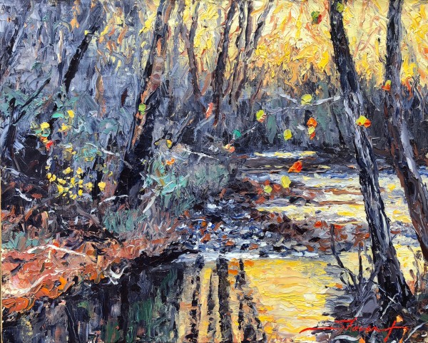 Fall is Here by Sharon Rusch Shaver
