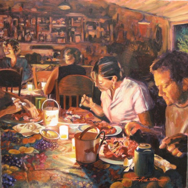 Lobster Party  by Sharon Rusch Shaver
