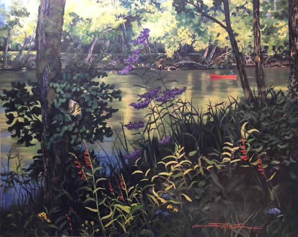 Caney Fork by Sharon Rusch Shaver
