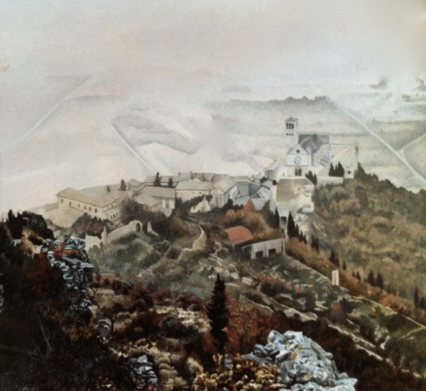 First Assisi by Sharon Rusch Shaver