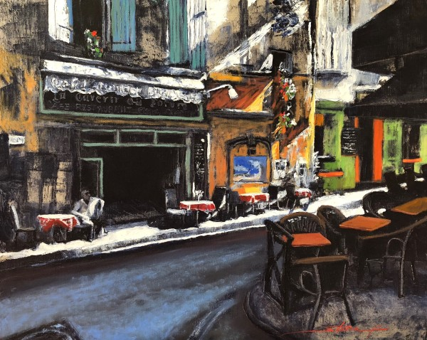 Morning in Arles by Sharon Rusch Shaver