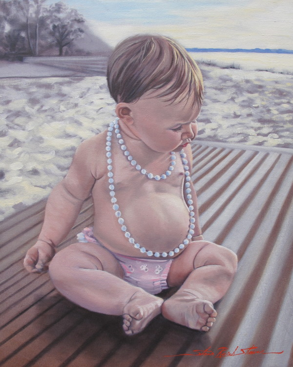 Baby Budha by Sharon Rusch Shaver