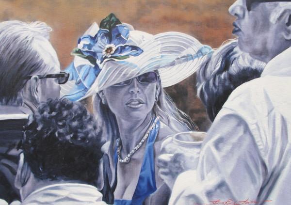 Blue Flower by Sharon Rusch Shaver