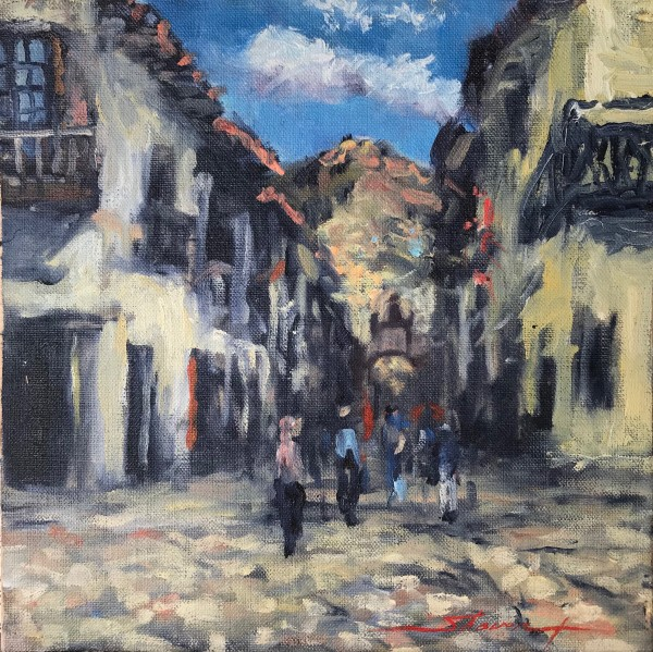 Plein Cuzco by Sharon Rusch Shaver
