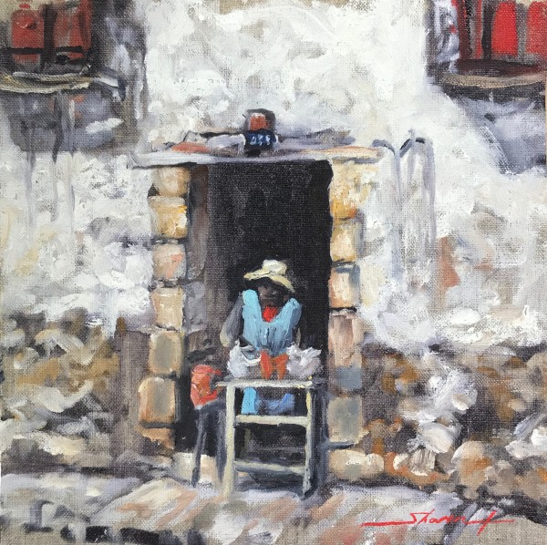 Everyday Plein Cuzco by Sharon Rusch Shaver