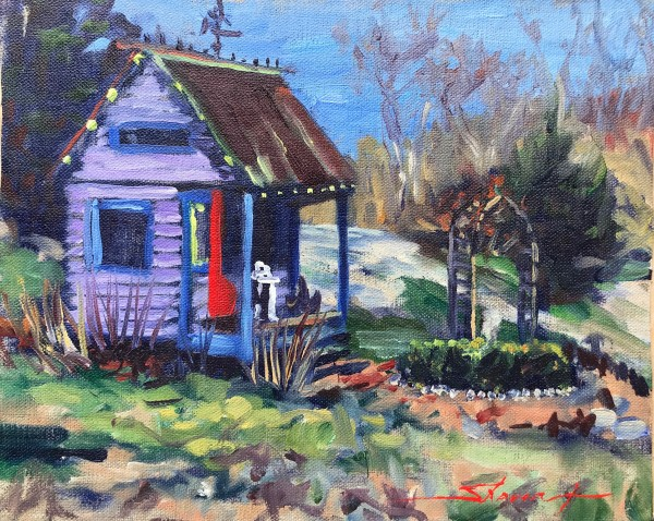 Spring Awaits by Sharon Rusch Shaver
