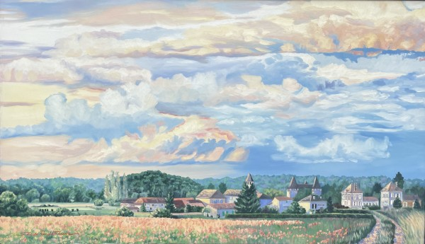 French Countryside by Sharon Rusch Shaver