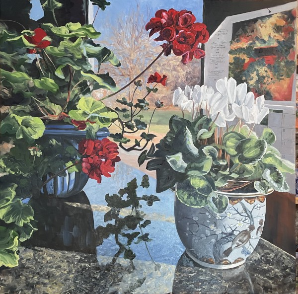Winter Blooms by Sharon Rusch Shaver