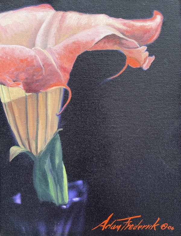 Angel Trumpet by Sharon Rusch Shaver