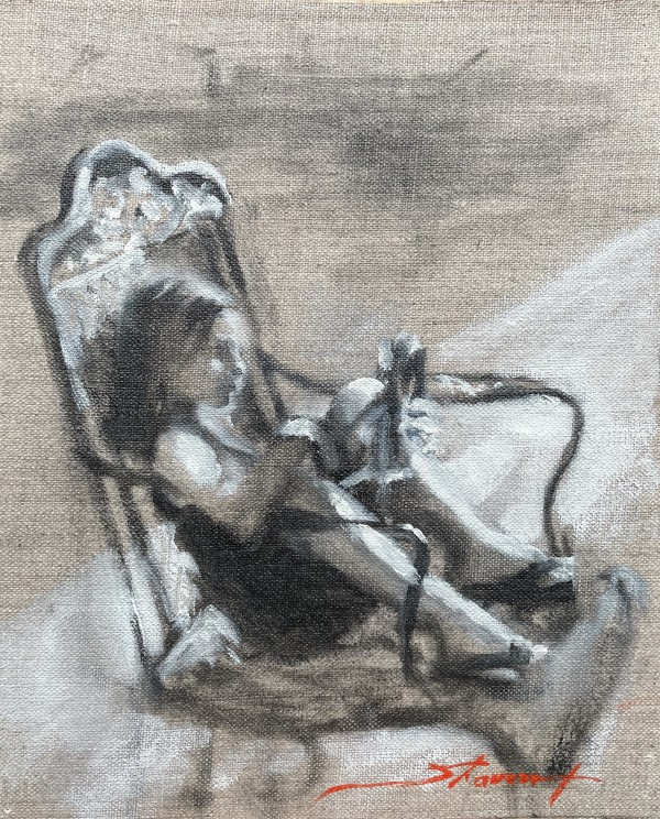 The Doll Sketch by Sharon Rusch Shaver
