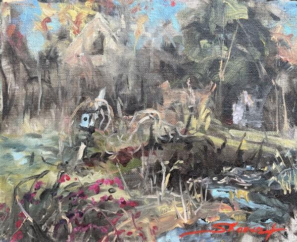 Plein Creekside by Sharon Rusch Shaver