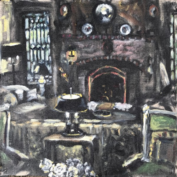 The Livingroom  by Sharon Rusch Shaver