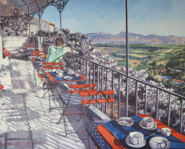 Breakfast in Vanesque by Sharon Rusch Shaver