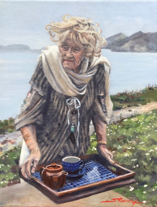 Tea in Ireland by Sharon Rusch Shaver