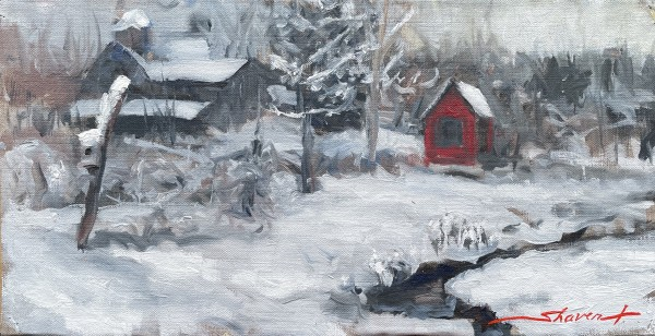 Plein Winter by Sharon Rusch Shaver