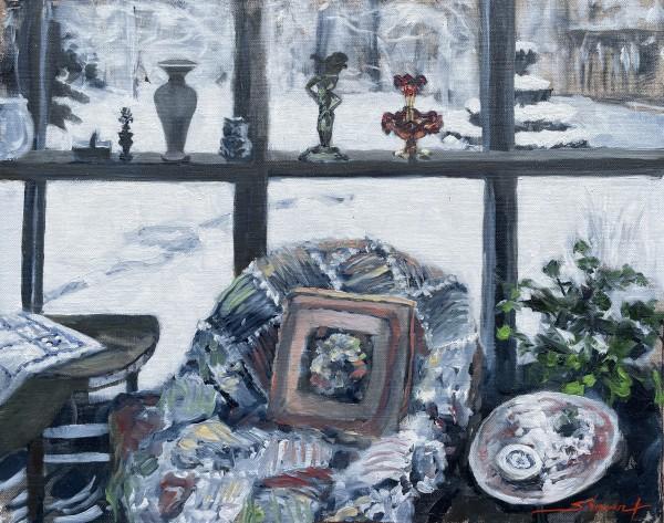 Plein Winter Comfort by Sharon Rusch Shaver