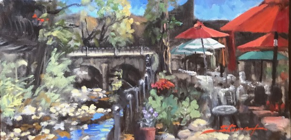 Creekside Plein Air by Sharon Rusch Shaver