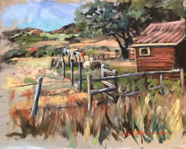 Plein Fetcher Ranch by Sharon Rusch Shaver