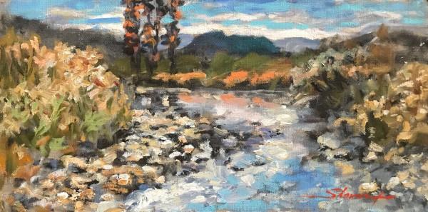 Plein Creek by Sharon Rusch Shaver