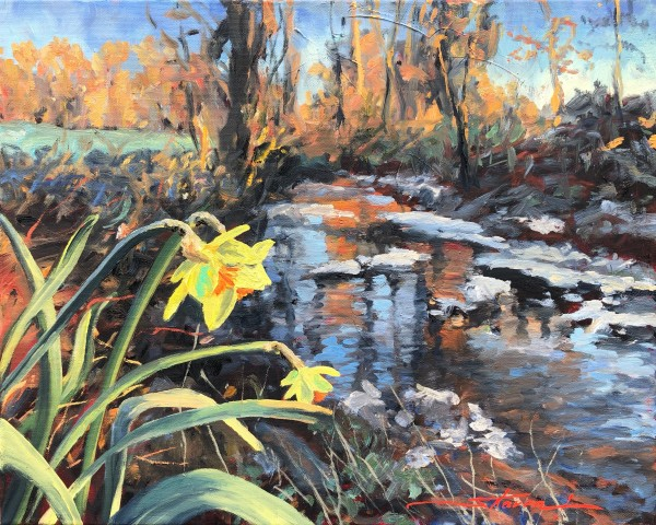 Spring Shout Out by Sharon Rusch Shaver