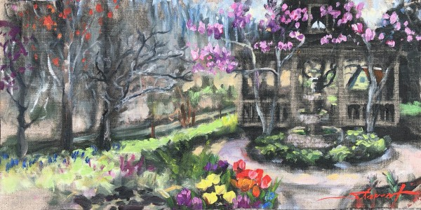 First of Spring by Sharon Rusch Shaver