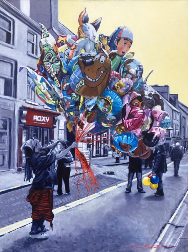 Baloon Man by Sharon Rusch Shaver