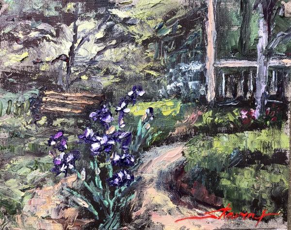 Plein Iris by Sharon Rusch Shaver