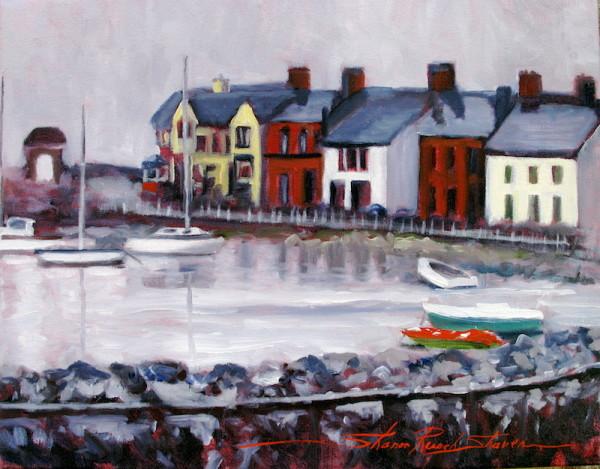The Irish Coast by Sharon Rusch Shaver