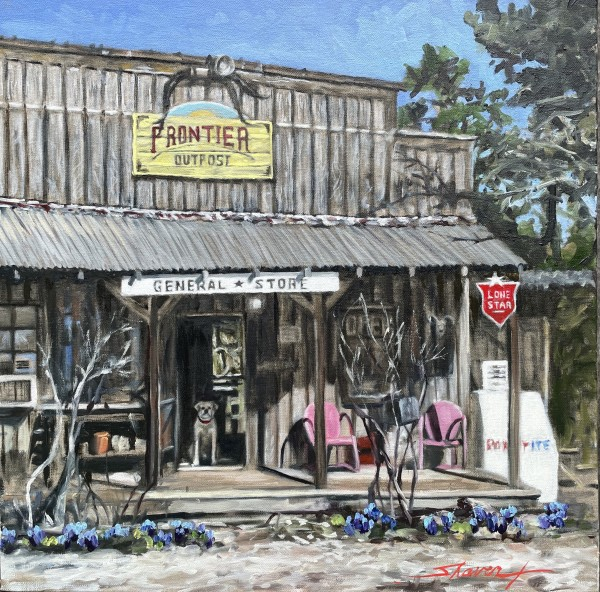 Frontier Outpost Texas by Sharon Rusch Shaver