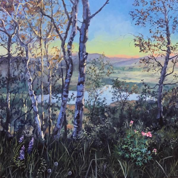 White Birch by Sharon Rusch Shaver