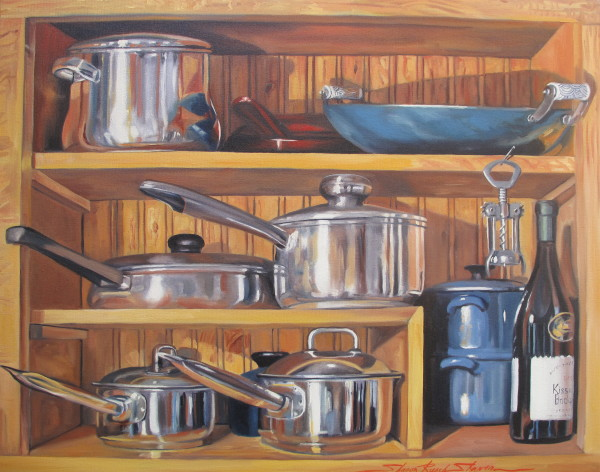 Pots and Pans by Sharon Rusch Shaver