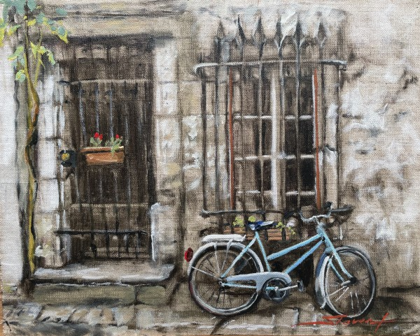 French Ride by Sharon Rusch Shaver
