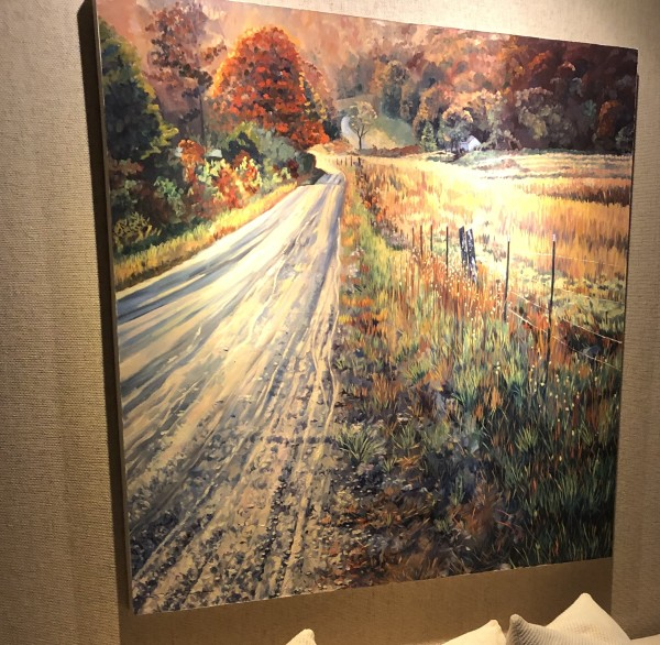 Country Road by Sharon Rusch Shaver