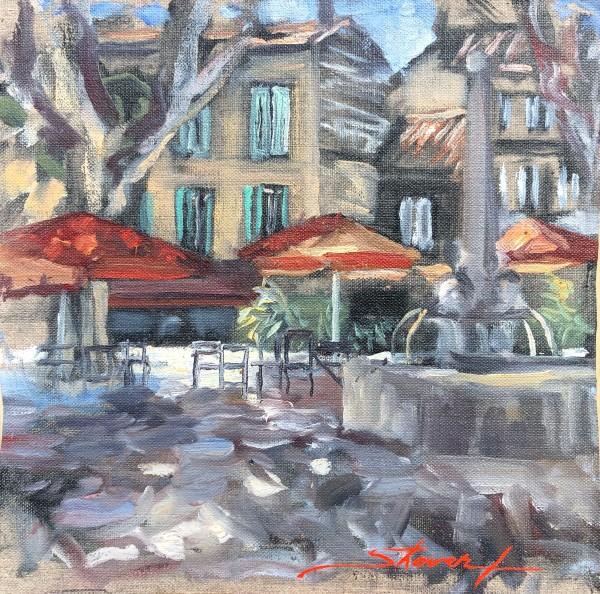 Plein St. Remy by Sharon Rusch Shaver