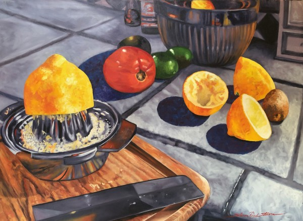 Lemons & Tomatoes by Sharon Rusch Shaver