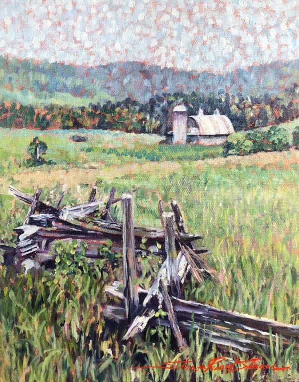 Split Rail by Sharon Rusch Shaver