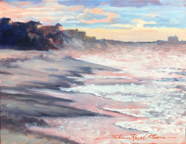 Plein Beach by Sharon Rusch Shaver